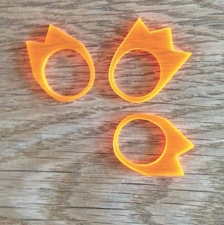 Lasercut smykke 2