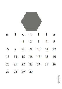 Grå kalender