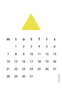 gul kalender